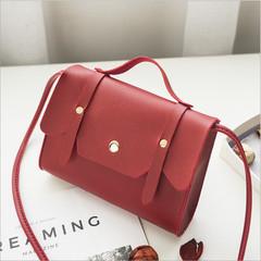 Simple Mini Women Crossbody Bags Small Messenger Shoulder Sling Purse Lady Handbag red one size
