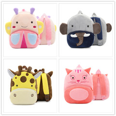 Baby Toddler Kids Child Mini Cartoon Animal Backpack Schoolbag Shoulder Bag A