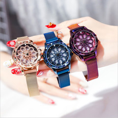 2019 Hot Fashion Simple Steel Wrist Watch Women Quartz Watches Luxury Elegant Analog Watch rose gold one size