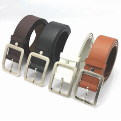 Hot Fashion Women Lady Leather Buckle Waist Belt Waistband Female Waist Strap brown one size