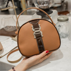 Women's Mini Messenger Bag Stylish Leather Sling Bag Casual Crossbody Bag Fashionable Shoulder Bag brown one size