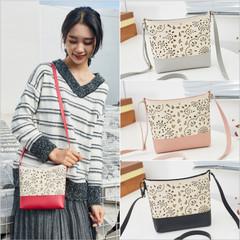 New Fashion Women Messenger Shoulder Bag Crossbody PU Leather Satchel Sling Bag red one size