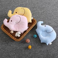 Newborn Baby Elephant Pillow Sleeping Support Prevent Flat Head Pillow pink 26x19cm