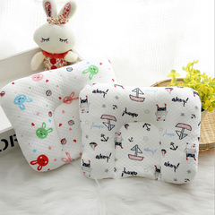New Baby Cute U-shaped Neck Headrest Pillow for Travel Car Seat Child Stroller Cushion 0-12 Months white&black 20x30cm