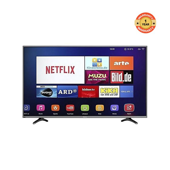 Hisense 50-Inch Smart UHD 4K TV 50A6103UW black 50