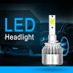 2PCS LED Car Headlights Car Light Fog Light for Model 880 9004 9005 9006 9007 H1 H3 H4 H7 H11 H13 880 as picture 36w