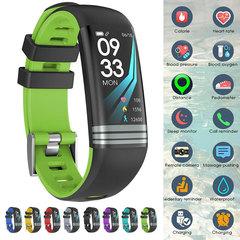 G26S Pro Color Screen Smart Bracelet Fitness Watch Activity Tracker Waterproof Smart Band Wristband green one size