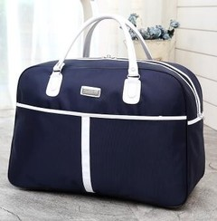 YEGO Women Travel Bags New Fashion Oxford Waterproof Large Capacity Luggage Duffle Bag blue small