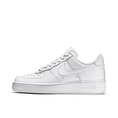 Air force 1 Classical Pure White&Black&Wheat Men&Women couple shoes Fashion Sneakers white low 36