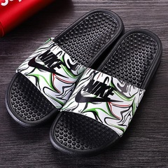YEGO Swoosh NEW Colorful Edition Men&Women Summer Cool Slippers Fashion non-slip shoes green 36