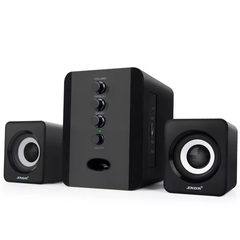 Mini Home Theater Sound System Bluetooth Speaker Subwoofer And FM Radio black 3w 801