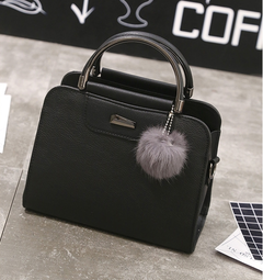 Casual PU Leather Women Handbags Ladies Small Shopping Bag Shoulder Messenger Crossbody Bags black one