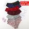 Sexy Lace Panties Women Lingerie Tempting Pretty Briefs Cotton Low Waist Cute Women Underwear 1pc Red L