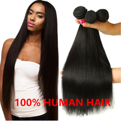 26 Inch Long Strait Wave Wigs 100% Human Original Hair Wig Women Hair Extension natural color 8 inch