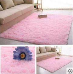 Soft Fluffy Carpet Pink 7*8