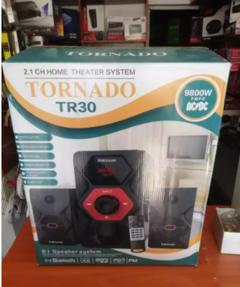 SOUND TORNADO SYSTEM/SPEAKER SYSTEM, BLUETOOTH/USB/SD/FM RADIO black 9800W TR30