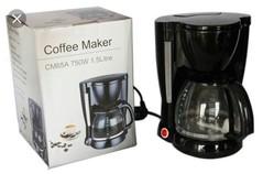 Coffee Maker Machine black 1.5 litres