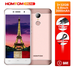 HT37 Pro 3GB+32GB, 13MP Camera, Android 7.0 4G , 3000mAh Double Speaker,  5.0 Inch HD gold