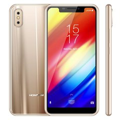 HOMTOM H10 Smart Phone 4GB+64GB 5.85 inch Android 8.1 3500mAh gold