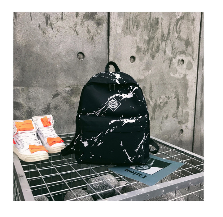 Travel Backpack  Schoolbag  Backpack Packsack Black 30*17*40
