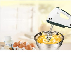 Household Electric Hand-held Egg Beater Mini High Power Mixer Egg Blender as picture