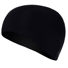 Good for swimming pool hot springs with long hair and high grade swimming cap 7117-black the picture