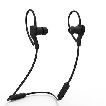 BT-H06 Sport Bluetooth  Fashion Microphone Handsfree Stereo Sound for Android and IOS Phone Black
