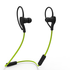 BT-H06 Sport Bluetooth  Fashion Microphone Handsfree Stereo Sound for Android and IOS Phone Green
