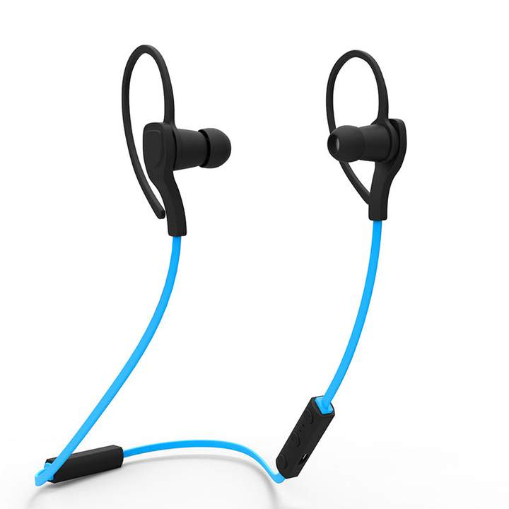 BT-H06 Sport Bluetooth  Fashion Microphone Handsfree Stereo Sound for Android and IOS Phone Blue