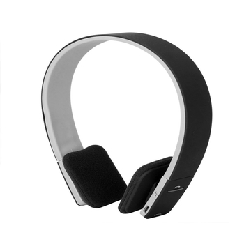 AEC Noise Reduction Wireless Bluetooth Stereo Headphone Headset for Smartphone Black