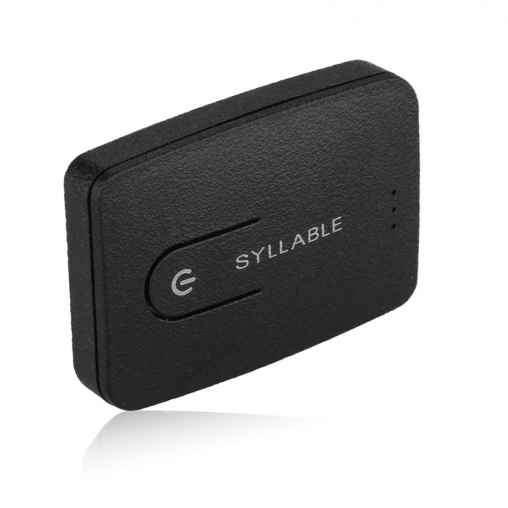 Syllable E3 multi-functional Bluetooth Box Transmitter Bluetooth audio adapter Launcher Black