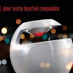 HUAWEI AM08 Little Swan Wireless Bluetooth CSR Speakerphone Touch Control 3D HD White One size