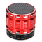 S28 Mini Wireless Bluetooth Bass Stereo Speaker Red One Size