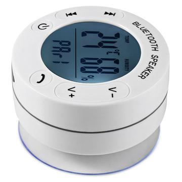 Mini Waterproof Wireless Bluetooth Speaker White One Size