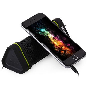 EARSON ER-151 Water Resistant Anti-scratch Dustproof Shockproof Multimedia Bluetooth Speaker Black One Size