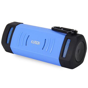 ( Buy 1 Get 2 Gifts) Outdoor Wireless Bluetooth EDR Speaker with Protective Cover Blue One Size
