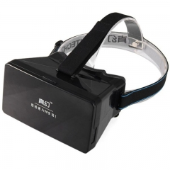 RRITECH 3D Magic Box Glasses Private Theater for Smart Phone Black One Size