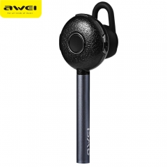 Awei A825BL Wireless Bluetooth 4.0 Business Earphone Noise Isolation with Build-in Microphone Gray