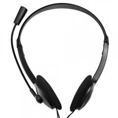 OVLENG OV-L900MV 3.5mm Plug Stereo Headset Earphone Headphone with Mic Black