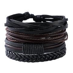 Bracelets & Bangles mens leather bracelets 2019 Pulseira Masculina Jewelry Charm Bileklik Pulseiras 1 one size