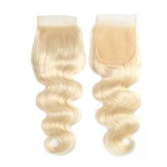 613 Color Lace Closure Human Hair 4X4