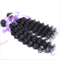 Synthetic Deep Wave Hair Weaves Curly Hair Extensions 1 Bundle 100g Per Bundle Hair Extensions Black 16inches