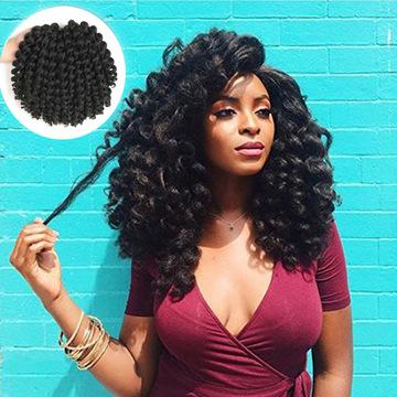 Jamaican Bounce Crochet Hair Ombre Crochet Braids 8 Synthetic Braiding  Curly Crochet Twist Hair T1B/30 8inches @ Kilimall Kenya