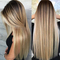 Long 26inches Ombre Straight Synthetic Hair Wigs Synthetic Hairs Long Hair Wigs Ombre Hair Wigs as shown 26inches