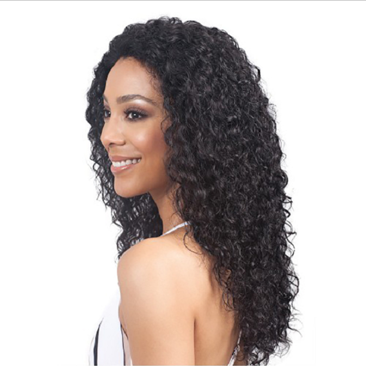 Long Curly Hair Wigs 24inches Long Kinky Curly Synthetic Hair Wig African Hair Wigs color 1 24inches
