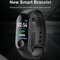 Newest M3 Smart Bracelet Color-screen Waterproof Fitness Tracker Sports Monitor Smart Watch black 260*19*11mm