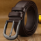 Hot Selling Pin Buckle Leather men's belt New Fashion belts for business and leisure brown 3.5cm*120cm