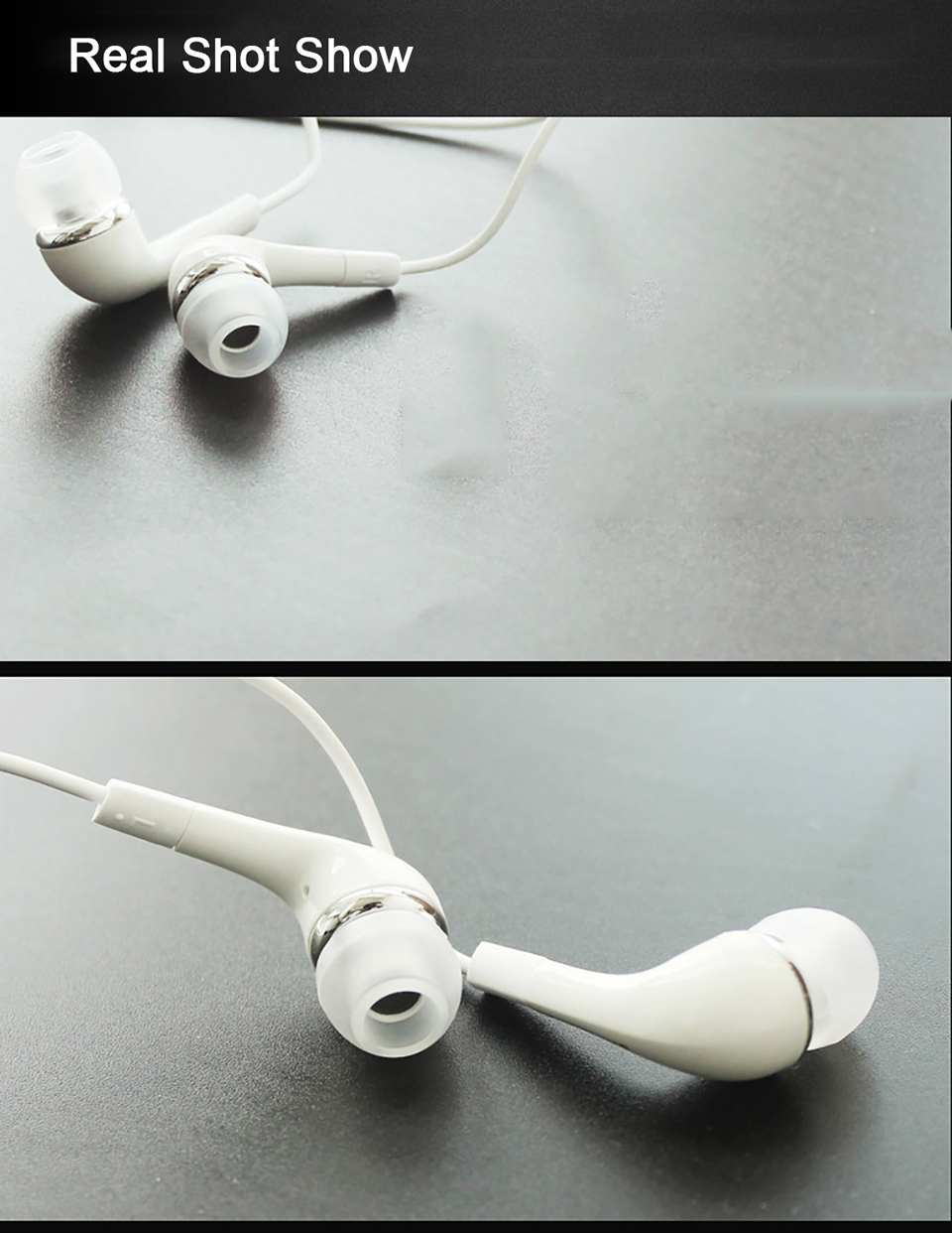 Samsung Earphones EHS64 Headsets With Built-in Microphone 3.5mm In-Ear Wired Earphone For Smartphone white 11