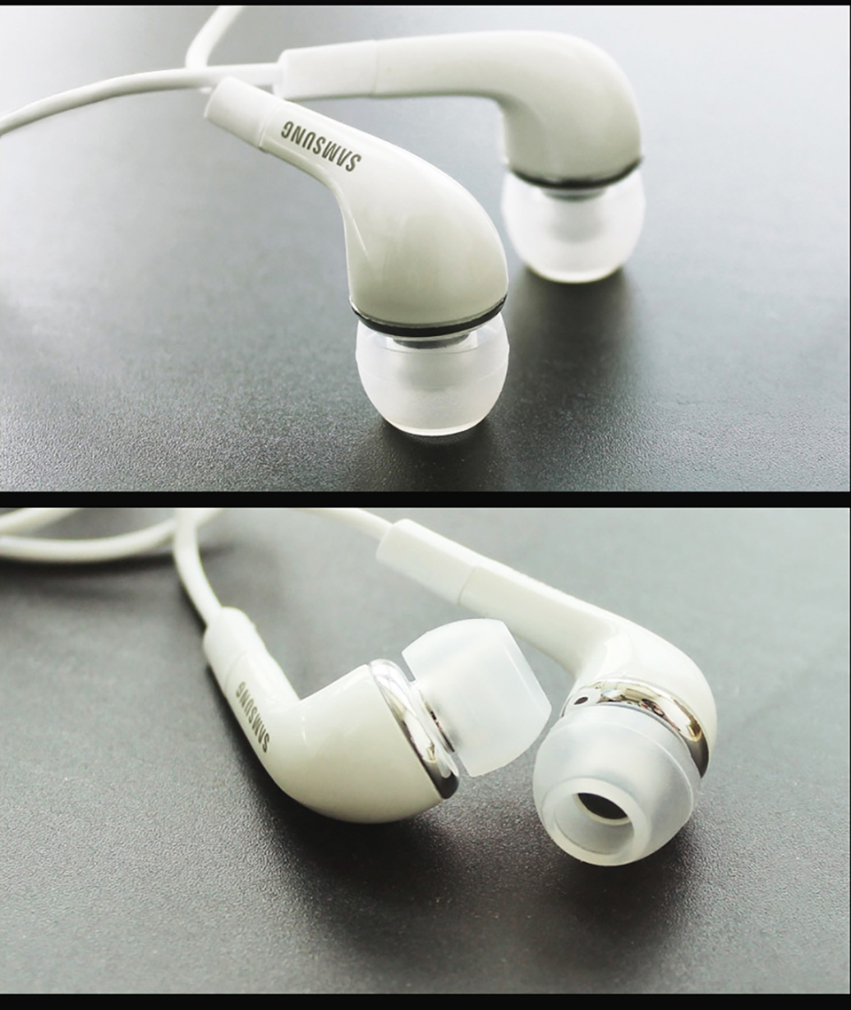 Samsung Earphones EHS64 Headsets With Built-in Microphone 3.5mm In-Ear Wired Earphone For Smartphone white 12