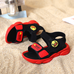 Boys Girl Sport Outdoor  Sandals Kids Beach Hiking Breathable Summer Shoes red 26